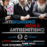 Roma, 13 novembre: conferenza dei Neturei Karta (ebrei antisionisti)