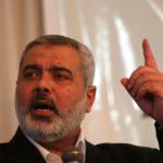 """Haniyeh: """"Processo di pace sepolto per sempre. Sarà Intifada"""""""