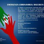 EMERGENZA CORONAVIRUS: RACCOLTA FONDI