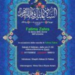 Videoconferenza sabato 6 febbraio: Fatima Zahra dama delle donne dell'universo